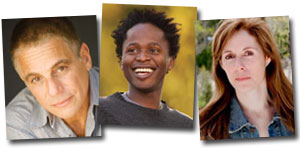 Tony Danza, Ishmael Beah, and Laurie Halse Anderson