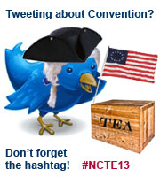 Tweeting about Convention?  Use the #NCTE12 hashtag!
