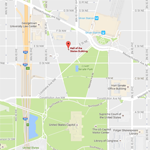 A Map of where the new NCTE office is located in Washington, DC. This links to a google map of the site.