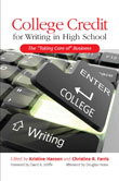 College Credit for Writing in High School