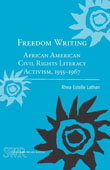 Cover from Rhea Estelle Lathan's Book: Freedom Writing