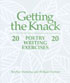 Getting the Knack: 20 Poetry Writing Exercises