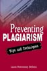 Thumbnail for Preventing Plagiarism: Tips and Techniques