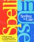 Thumbnail for Spelling in Use: Looking Closely at Spelling in Whole Language Classrooms