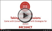 CCCC 2016 Taking Action Sessions