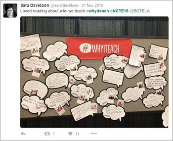 Tweet from Sara Davidson