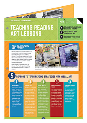 Teaching Reading Art Lessons QRG