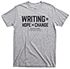 Thumbnail for National Day on Writing Gray Short-sleeve T-shirt, Large