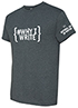 Thumbnail for #WhyIWrite Heather Gray Short-sleeve T-shirt, Large